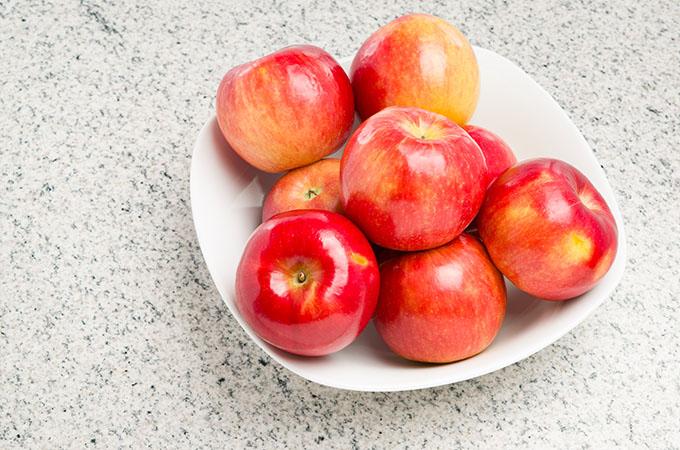 Rave Apples in Bowl