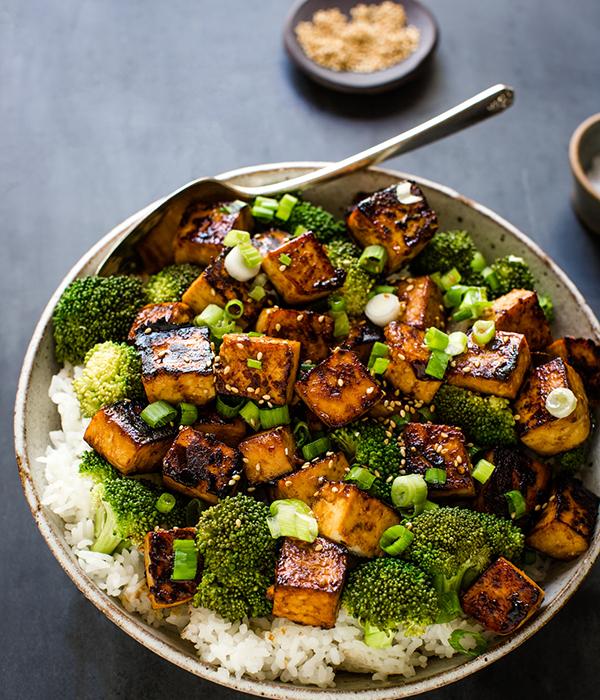 Garlic Asian Tofu