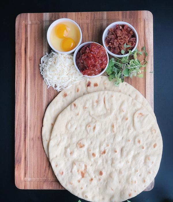 Bruschetta Pizza Ingredients