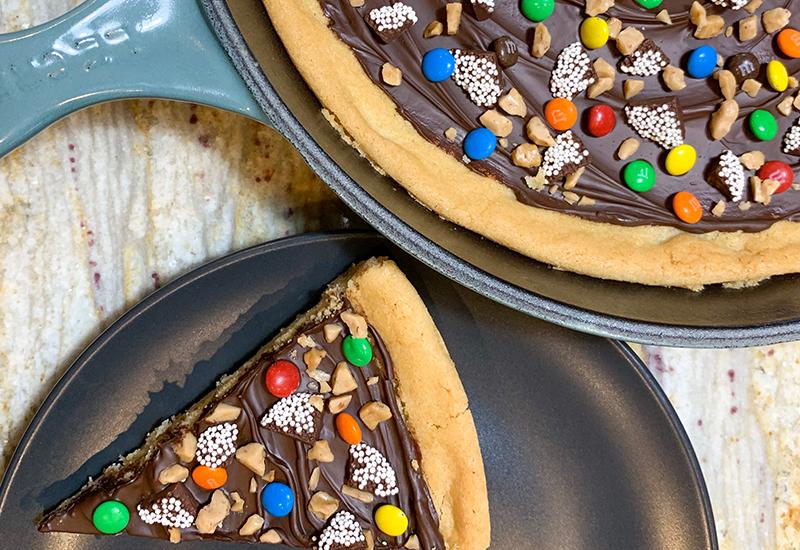 Confetti Cookie Dessert Pizza