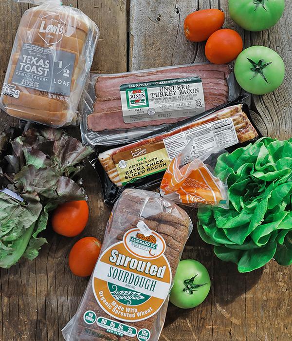 BLT Bread Options