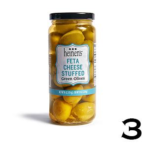 Heinen's Feta Cheese Stuffed Green Olives