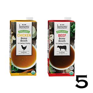 Heinen's Organic Bone Broths - Chicken and Beef