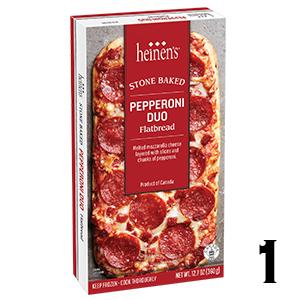 Heinen's Stonebaked Flatbreads - Pepperoni Duo