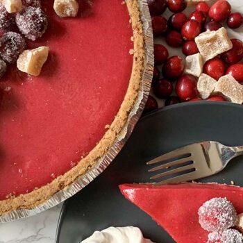 Cranberry Tart Pie