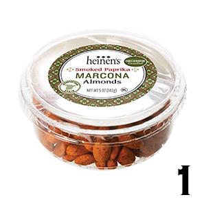 Smoked paprika marcona almonds
