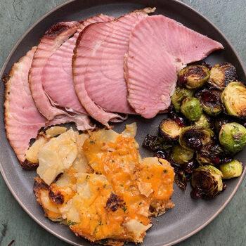 Holiday Ham Plate