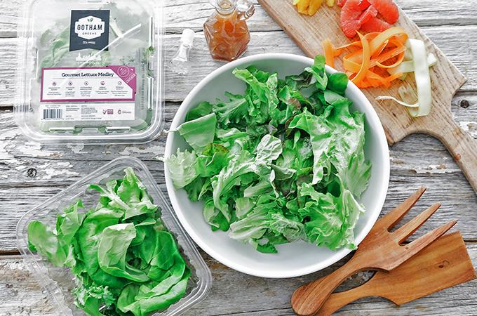 Citrus Salad Greens