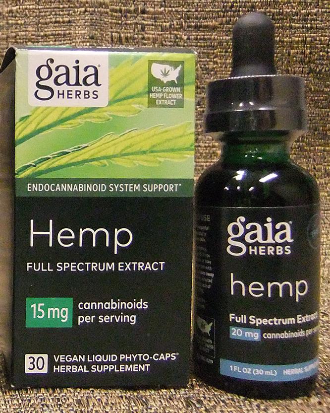 Gaia hemp extract
