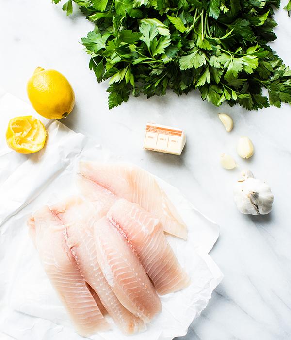 Garlic Lemon Butter Tilapia Ingredients