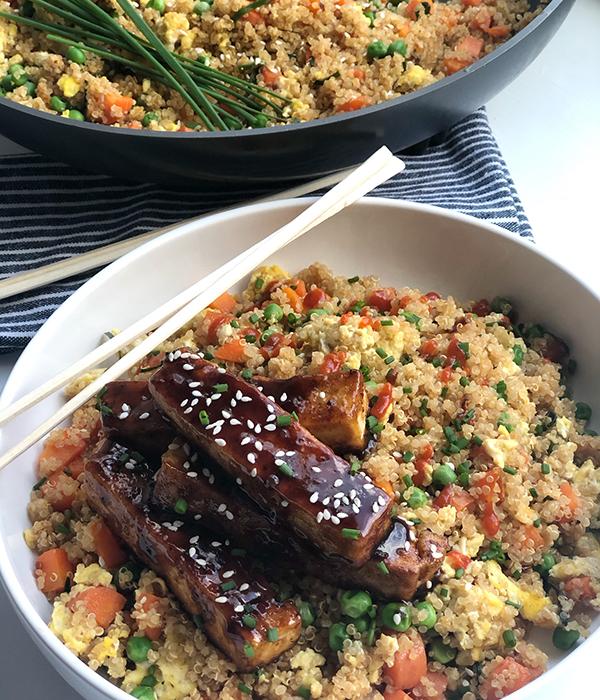 Genera; Tso's Tofu & Quinoa Fried Rice