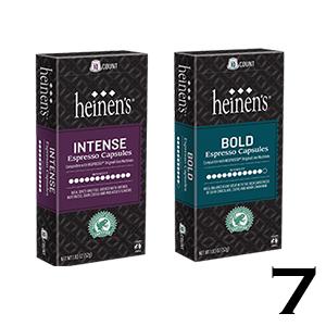 Heinen's espresso capsules