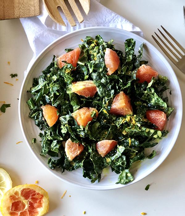 Sale Salad with Citrus Slices