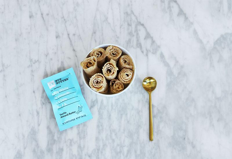 Vanilla almond RX nut butter frozen rolls