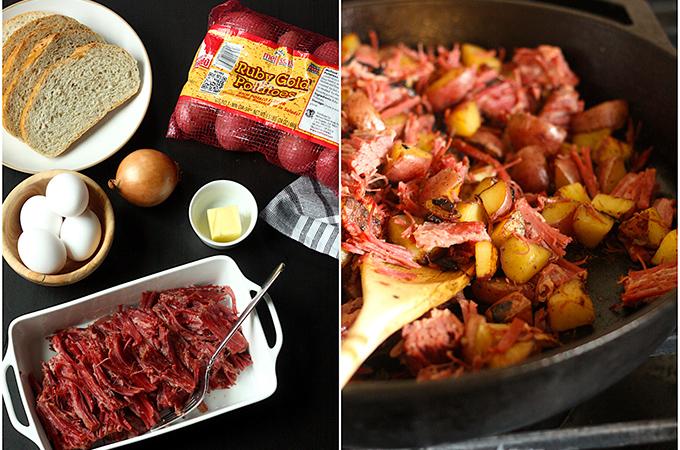 Classic Corned Beef Hash Ingredients