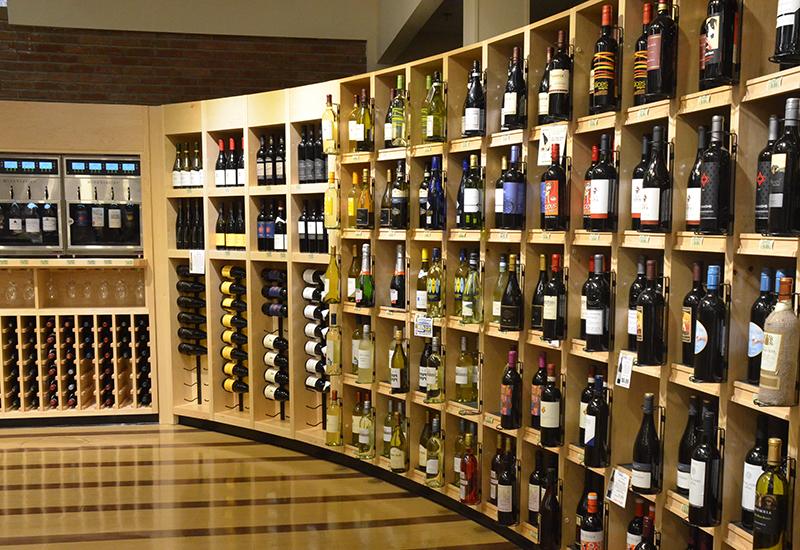 Heinen's wine department