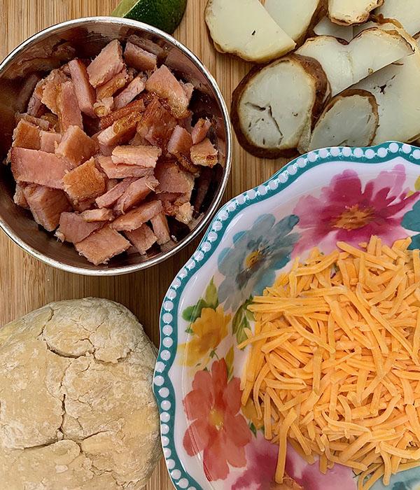 Leftover Ham Empanadas