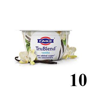 Fage TrueBlend yogurt in package