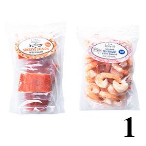 Heinen's frozen fish fillets and shrimp