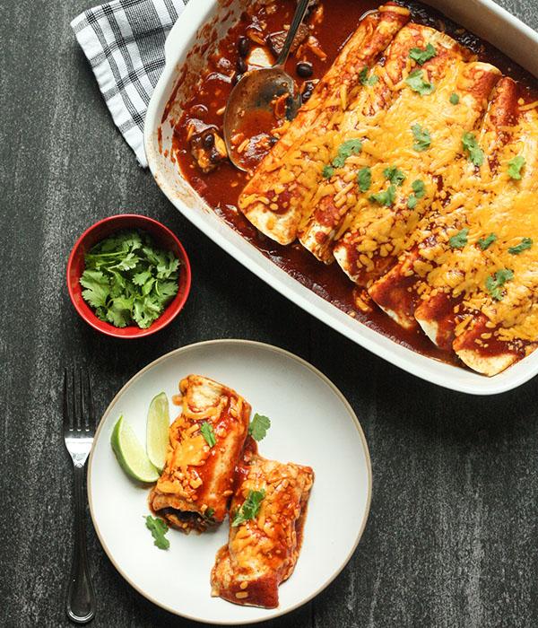 Steak Enchiladas