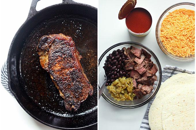 Steak Enchilada Ingredients