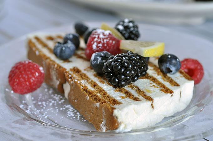 Lemon and Ginger Icebox Cake