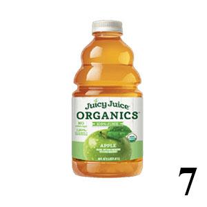 Juicy Juice organic apple juice in bottle
