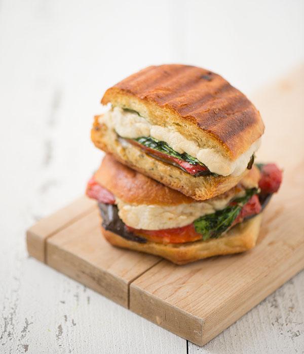 Vegan Mozzarella Panini