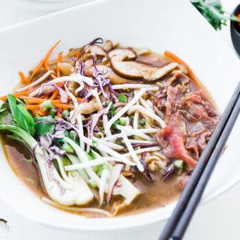Ramen Noodle & Beef Pho Recipe