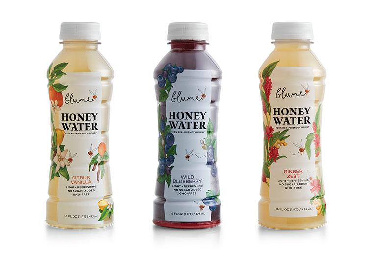 Variety of blume honey water
