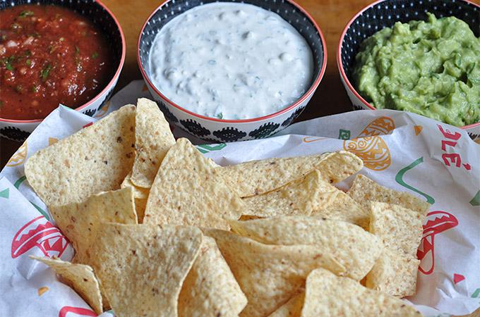 Viva Mexico Dip Trio