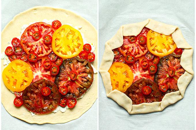 Savory Tomato Galette_Steps
