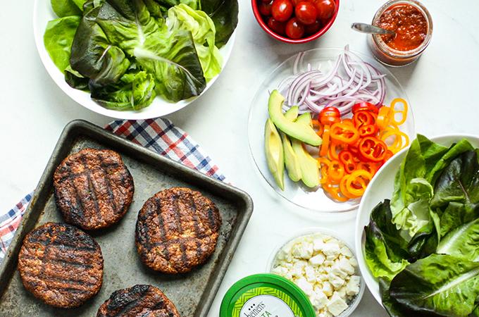 Burger Bowl Ingredients