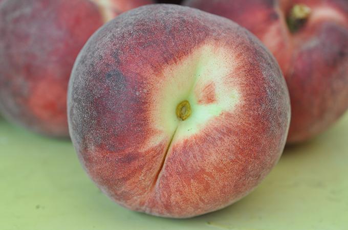 Whole White Peach