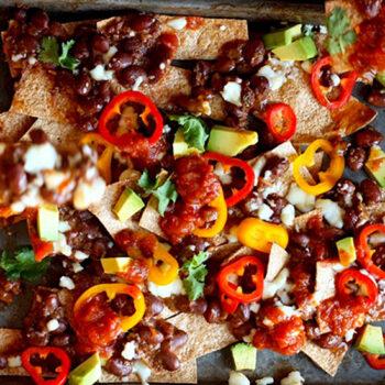 Beef Chili Nachos