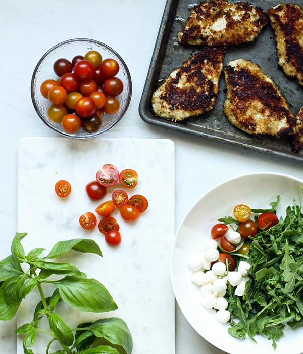 Summer Chicken Parmesan
