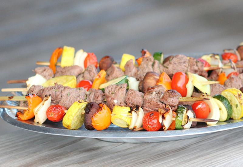 Lemon & Herb Lamb Kebabs