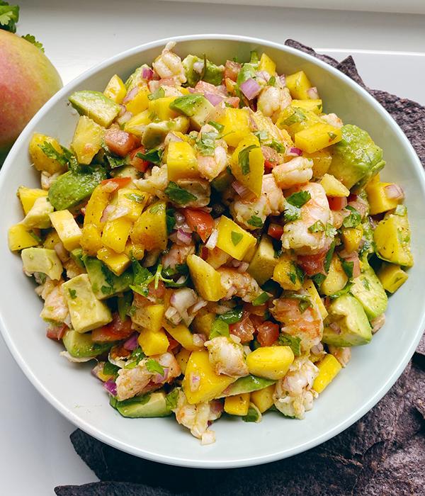 Mango Shrimp Salsa