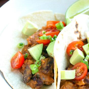 Mixed Bean Tacos