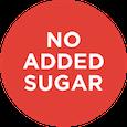 No sugar added icon