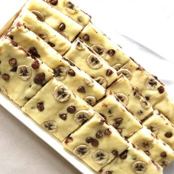 Sheet Pan Banana Chocolate Chip Pancakes