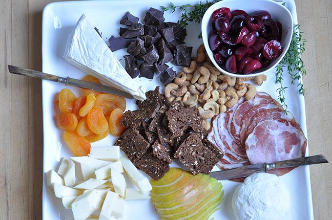 Savory and Sweet Cheese Board