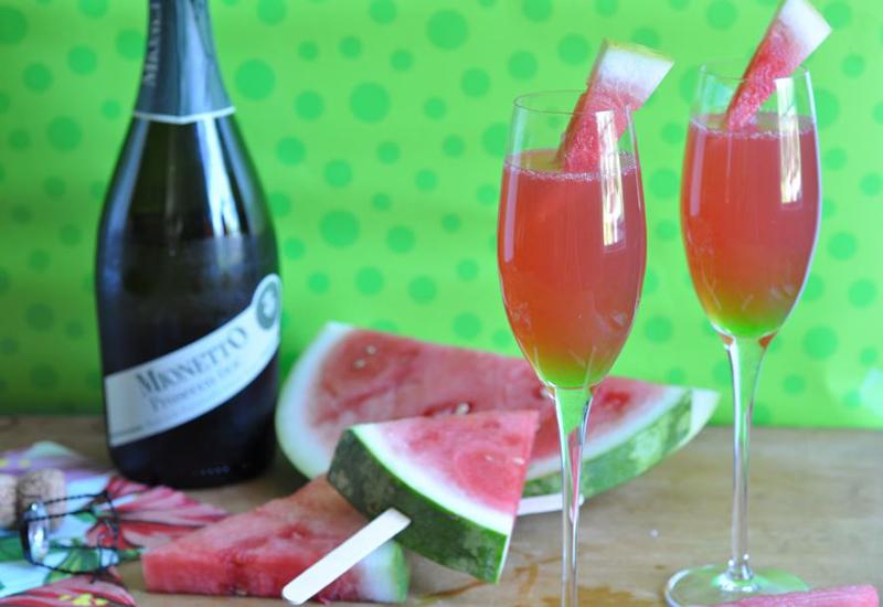 Sparkling Watermelon Cooler