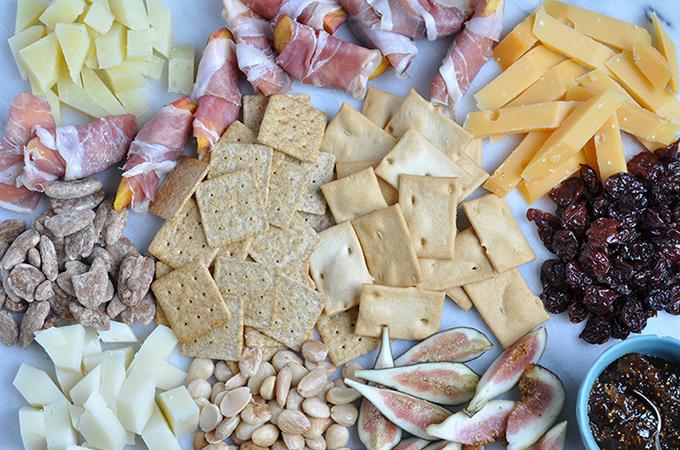 Taste Of the Mediterranean Cheese Board