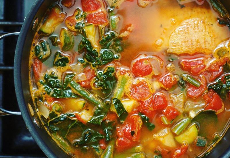 Weeknight Minestrone Soup
