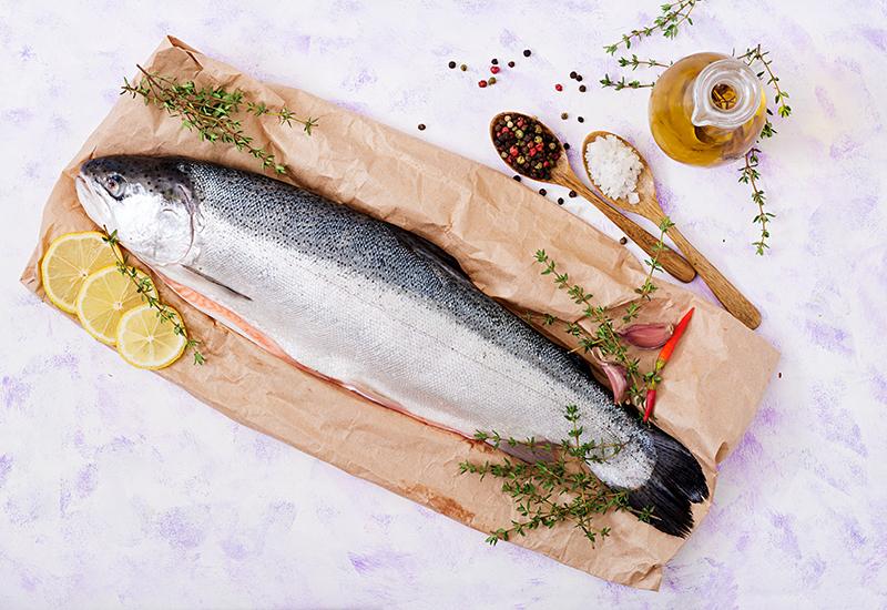 Whole Coho Salmon