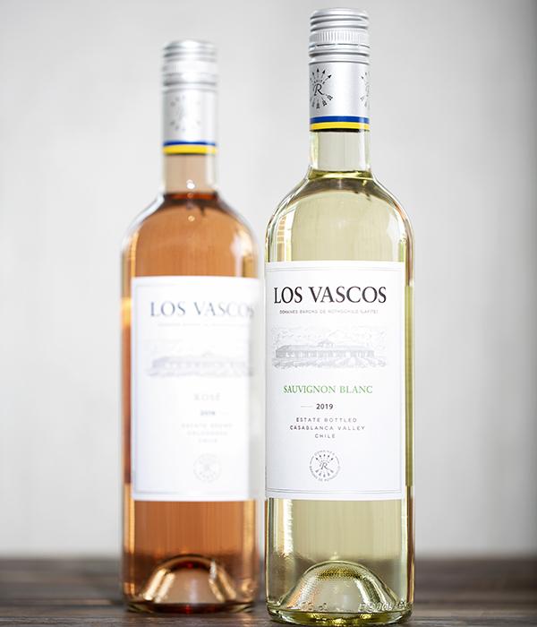 Los Vascos Sauvignon Blanc and Rose