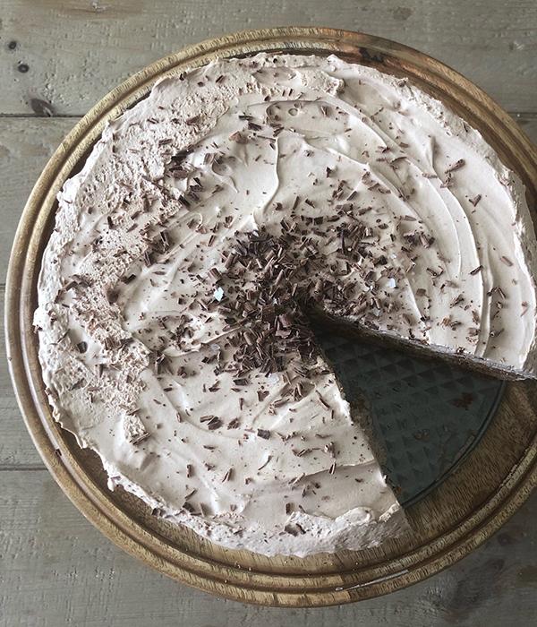 Mocha Ice Box Cake
