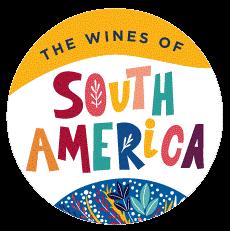 South America Wine Button