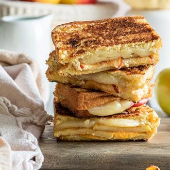 Apple Grilled Cheese Brioche